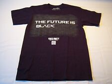 Call Of Duty Black Ops 2 The Future Is Black T-shirt Men's Size S
