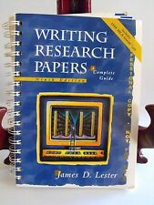 Writing Research Papers Complete Guide James Lester Ninth Edtn PROFESSIONAL COPY