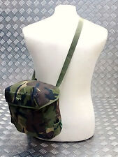 Genuine British Army S10 S6 Gas Mask Bag DPM Camo Haversack Respirator PLCE