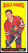 1964 65 TOPPS TALL BOYS HOCKEY #31 STAN MIKITA NM CHICAGO BLACKHAWKS BLACK HAWKS