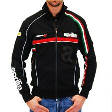 "New Aprilia Racing Team Tracktop Black - Small 36-38"" Chest Official Merchandise"