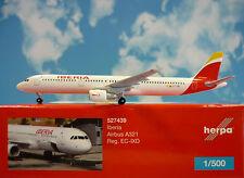 Herpa Wings 1:500  Airbus A321  Iberia  EC-IXD  527439