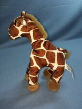 "Ganz 1996 8"" Tall Garry Giraffe Beannie Stuffed Animal Lovey Plus EUC"