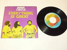 "INNER CIRCLE ""EVERYTHING IS GREAT"" disco 45 giri ISLAND 1979 Ita"