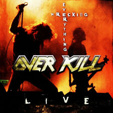 OVER KILL - WRECKING EVERYTHING LIVE LIMITED EDITION - THRASH METAL OVERKILL