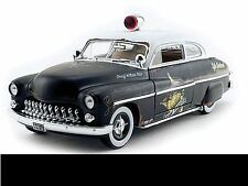 "1949 Mercury ""Rat Rod"" Police Car 1:18 Auto World 961"