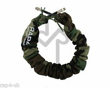 Paintball Remote Air Line Hose Cover (Woodland) - No more snagging [AJ4]