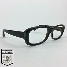 CALVIN KLEIN eyeglass DARK TORTOISE rectangle frame Authentic. MOD:746S