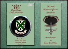 Royale Classic Car Grill Badge + Fittings - PLYMOUTH COAT of ARMS B2.1205