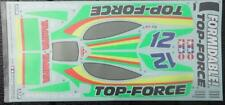 1 New Decal Sticker Set,  Vintage Tamiya Top Force item 9495129 for model 58100