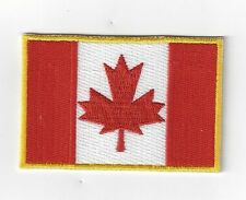 CANADA  FLAG IRON ON  PATCH BUY 2 GET 1 FREE = 3 OF THESE