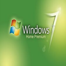 ORIGINAL WINDOWS 7 HOME 32 / 64BIT OEM GENUINE COA LICENSE KEY SCRAP PC