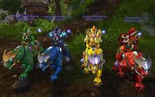 "World of Warcraft WoW 4 Panthers Jade/Sunstone/Sapphire/Ruby ""All US Servers"""