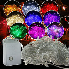 10M 100 LED Natale Xmas Tree Fata Stringa Fairy Lights Luce A LED String Strip