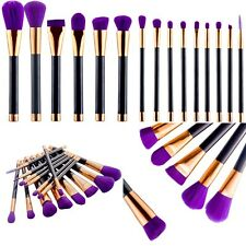 15tlg Professionelle Kosmetik Pinsel Makeup Puder Brush Schminkpinsel Set Jessup