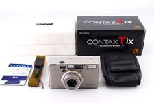 [MINT!! in BOX] Contax Tix Film Camera Sonnar 28mm F/2.8 T From Japan #378