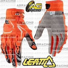 Leatt GPX 5.5 Lite Orange Black White Gloves Adult XL Motocross Enduro Quad ATV