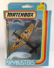 Matchbox Skybusters SB-7 Junkers 87D - Black/Beige - Mint/Boxed