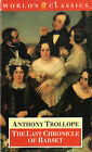 The last chronicle of barset- A.TROLLOPE, 1991 Oxford University Press- ST432