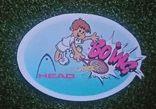 NOS 1980s vintage Head tennis sticker 'Boing'