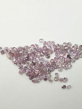 100% Natural Original Round Cut Rare Fancy Intense Pink Loose Diamond 0.01ct
