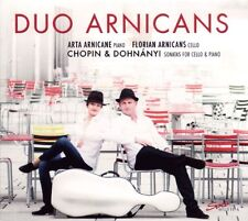 DUO ARNICANS / Sonatas for Cello and Piano / (1 CD) / NEUF