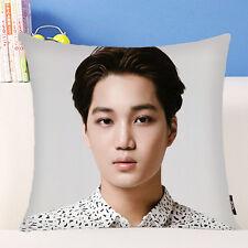 EXO KAI Thow Hold Pillow Bolster Sofa Cushion EXO Planet#2 Pillowcase Cover