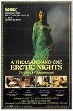 Thousand And One Erotic Nights Poster 01 Metal Sign A4 12x8 Aluminium