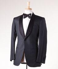 NWT $6250 KITON NAPOLI 'Cipa 1960' Shawl Lapel Silk Smoking Jacket 36 R Blazer