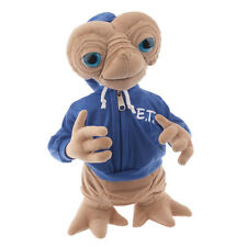 "Universal Studios 15"" Plush E.T. Extra Terrestrial Plush with Blue Hoodie"