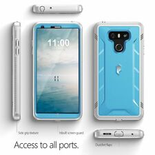 Poetic Revolution Rugged Case With Hybrid Heavy Duty Protection for LG G6 Blue