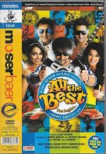 ALL THE BEST - BRAND NEW BOLLYWOOD 2DVDs SET