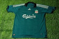 LIVERPOOL ENGLAND 2008/2009 FOOTBALL SHIRT JERSEY THIRD ADIDAS ORIGINAL YOUNG XL