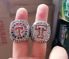 2010 2011 Texas Rangers Championship Ring 2 together