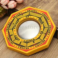 Chinese Fengshui Dent Concave Bagua Feng Shui Mirror Taoist Talisman Energy Luck