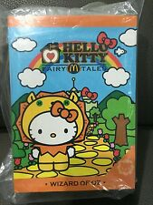 McDONALDS HELLO KITTY FAIRY TALES WIZARD OF OZ  / RARE / CUTE / SOFT TOY