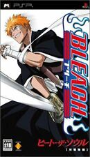 Used PSP Bleach: Heat the Soul Japan Import
