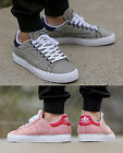 New Adidas Stan Smith Vulc Pin Stripe Rare Designer Casual Smart Shoes Trainers