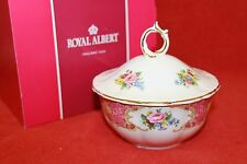 ROYAL ALBERT ~ LADY CARLYLE DESIGN ~ POWDER BOWL ~ BOXED