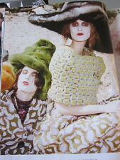 MARC JACOBS 80 % wool runway wrap / shawl NEW with TAG  green silver safety pin