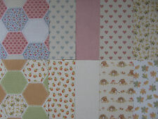 10 x docrafts Tilly Daydream A5 Papers For Cardmaking & Scrapbooking
