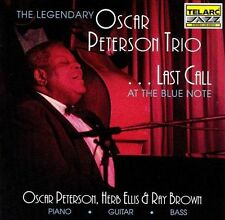 ...Last Call at The Blue Note 2006 by Oscar Peterson Ex-library