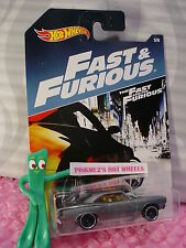 2017 The Fast & The Furious  #3 '70 PLYMOUTH ROAD RUNNER☆Gray☆Hot Wheels Walmart