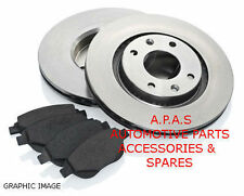 Ford Fiesta  MK 6 (2002-2009) Hatchback 1.6 TDCi (8FRONT BRAKE DISCS AND PADS