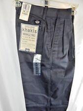 Nos Vintage 1990s Levis Dockers Khakis Pleated SlacksTrouser Retro Pants 14 Slim