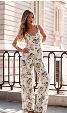 ZARA SS16 Flowing Floral Jumpsuit SIZE S UK 8 EU 36 US 6 Ref:2932/317