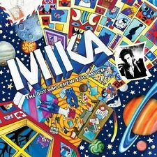 MIKA 'THE BOY WHO KNEW TOO MUCH' DELUXE EDITION 2 CD BONUS TRACKS + live album