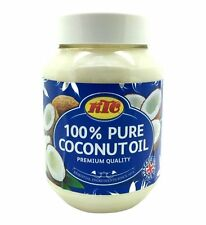 KTC 100% puro aceite de coco Multipropósito Jar 500mL