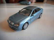 High Speed Mercedes CLK Coupe in Light Blue on 1:43