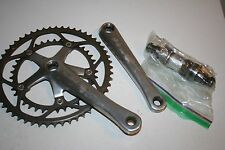 Dura Ace 7700 Crankset and Bottom Bracket Well Used